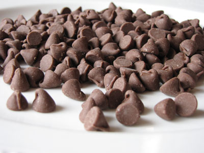 chocchips Falling into Chocolate
