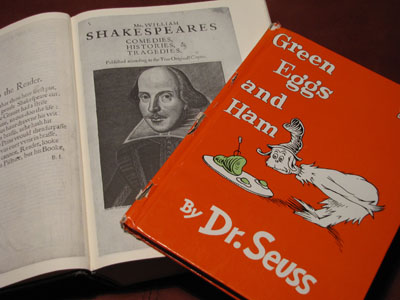 shakeseuss What Shakespeare and the Worlds Greatest Chef Have in Common