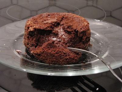 davidplated Recipe Review:  David Lebovitzs Hot Chocolate Cakes