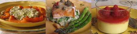 Rosasmenu Cooking in Nice:  Part Two