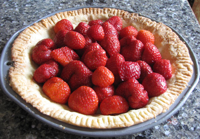 berriesincrust Moms Strawberry Pie  Recipe Review