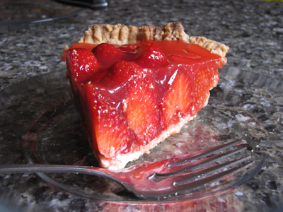 piecepie Moms Strawberry Pie  Recipe Review