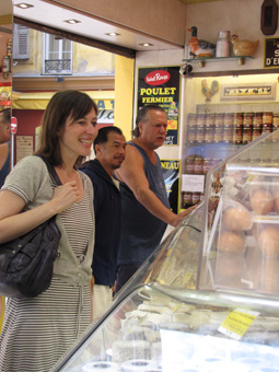 rosacheese2 Cooking in Nice:  Les Petits Farcis, Part One  The Market Tour