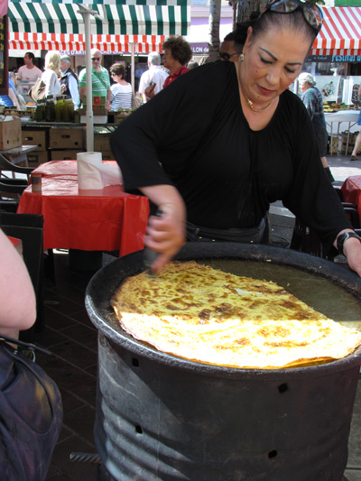 socca Cooking in Nice:  Les Petits Farcis, Part One  The Market Tour