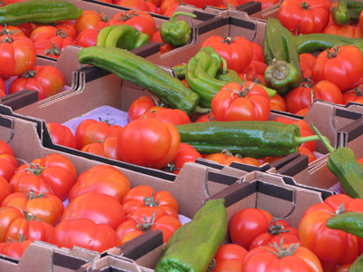 tomatopepper Cooking in Nice:  Les Petits Farcis, Part One  The Market Tour